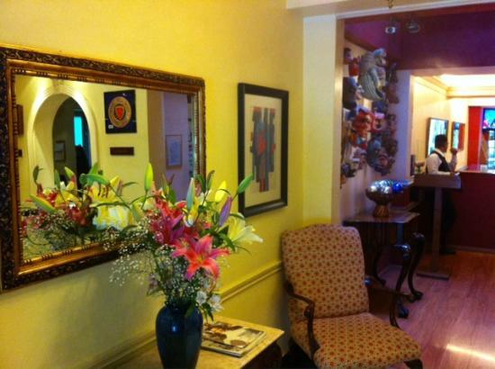 Hotel La Casona: Reception area