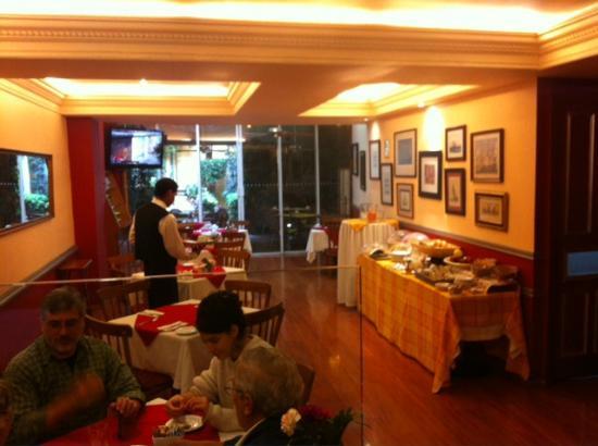 Hotel La Casona: Breakfast room