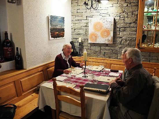 Uomo Selvatico : Sympathique ambiance et bonne table