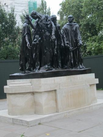 The Victoria Tower Gardens: Burghers of Calais