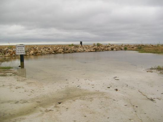 Pond at Bowditch Point Park