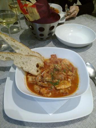 Pescheria Antonella: zuppa di pesce