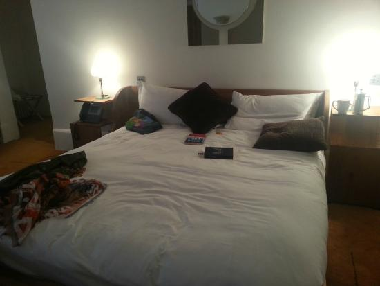 Bellinter House : one of two beds - mine