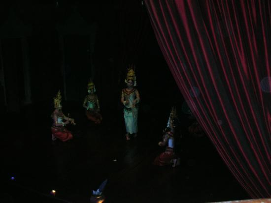 Angkor Village Apsara Theatre: spectacle