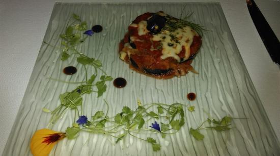 Sabor Brazil: Aubergine lasagne instead of the fish option