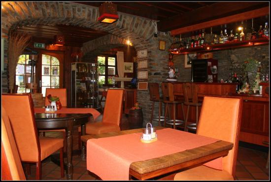 Domaine du Moulin d'Asselborn: La brasserie