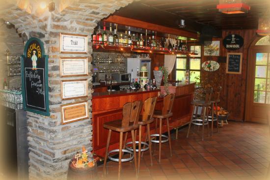 Domaine du Moulin d'Asselborn : Le bar