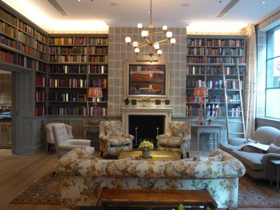 library room picture of ham yard hotel london tripadvisor. Black Bedroom Furniture Sets. Home Design Ideas