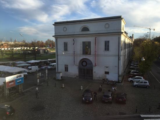 Hotel Estense : Vista dalla camera 209