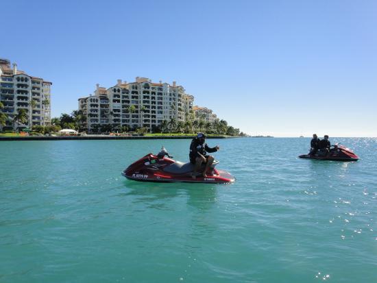 Jetski Tours of Miami