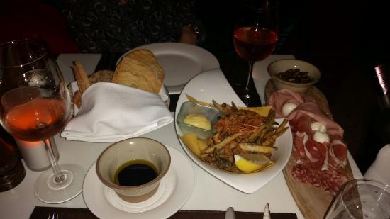 L'Italiano: Fritto Misto and Antipasto