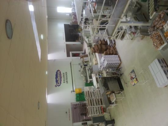 Galleros Artesanos: fábrica