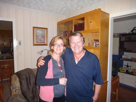 Gite au Crepuscule: Andre & Nancy