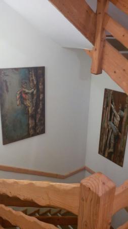 Le Moulin de Lily : Escalier