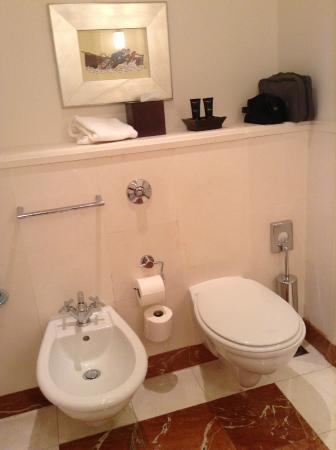 Hotel Amigo: Bathroom
