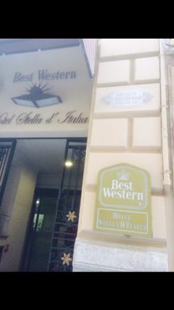 BEST WESTERN Hotel Stella d'Italia: Ingresso