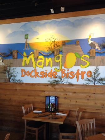 Mangos Dockside Bistro: 入口