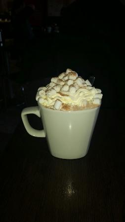 Ca Dora Cafe: Hot chocolate