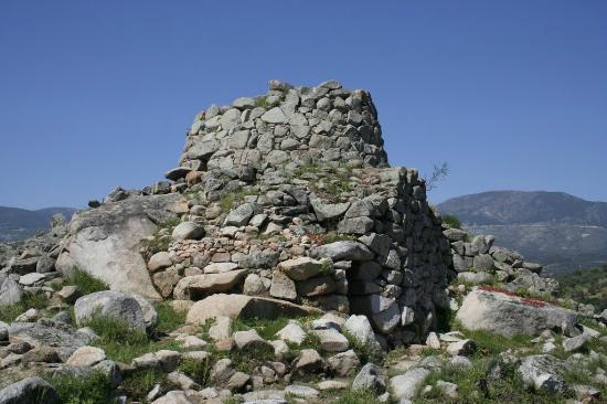 Ilbono, Italie : nuraghe sceri