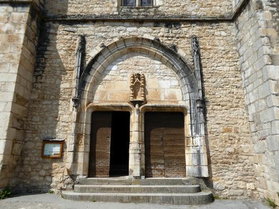 La porte de l 39 glise photo de eglise de saint cirq - Eglise la porte ouverte culte en direct ...