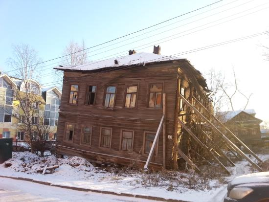 Arkhangelsk Oblast, Rosja: casas rusas