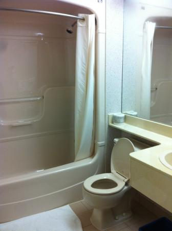 Comfort Inn: CLEAN SMALL BATHROOM
