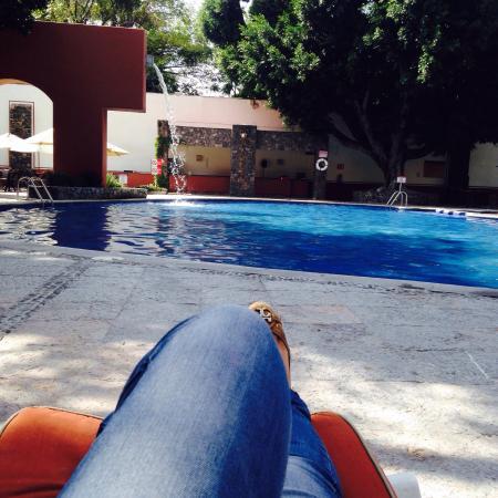 Hacienda Jurica: Pool