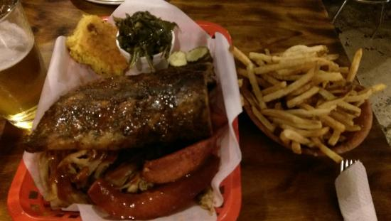 That Boy Good : Wonderful. BBQ combo. The ribs are to die for.