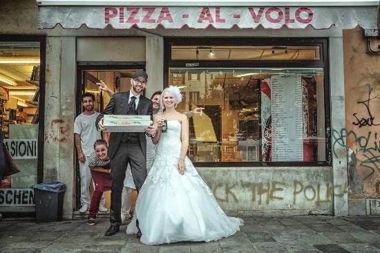 Pizza Al Volo : after wedding pizza