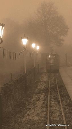 Kirklees Light Railway: Foggy day