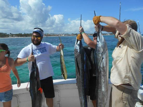 Gone Fishing Punta Cana : Great day!