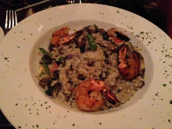 Richmond Grill: Grilled Shrimp Risotto
