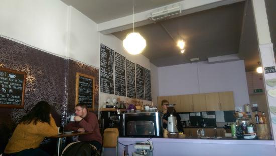 Oban Chocolate Company: cafe servery.