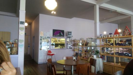 Oban Chocolate Company: The viewing window