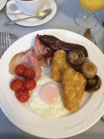 Apple Tree: Just one of the breakfasts offered. Served just as I requested, delicious!