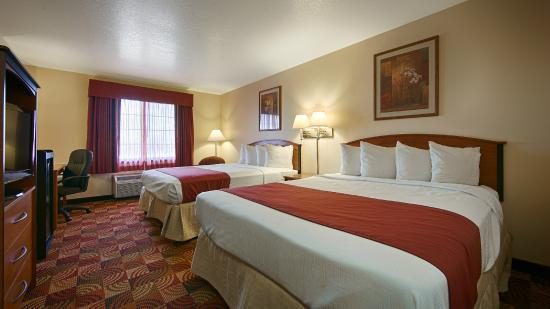 Best Western Laramie Inn & Suites: Deluxe Double Queen Bedroom