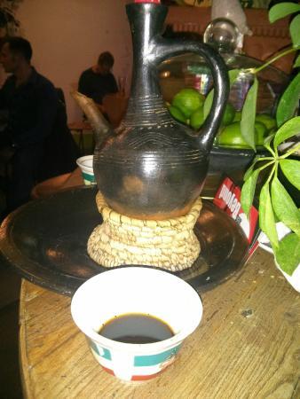 Tutu's Ethiopian Table at The Global Cafe: Ethiopian Coffee