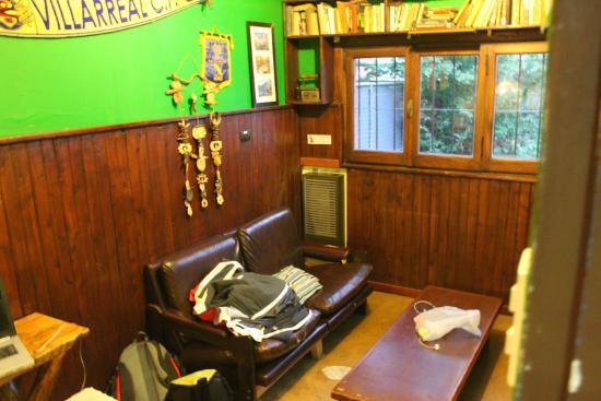 Hostel Achalay: Sala de recreación