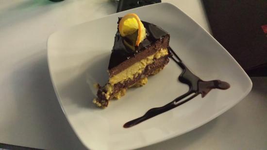 Kavarna Cacao: torta all'arancia