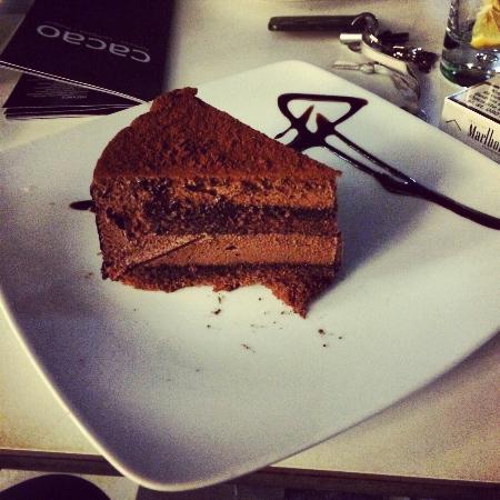 Kavarna Cacao: torta al cacao