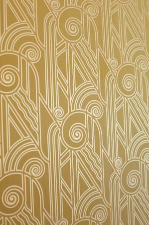 Art Deco Wall Coverings At Meadowood Picture Of