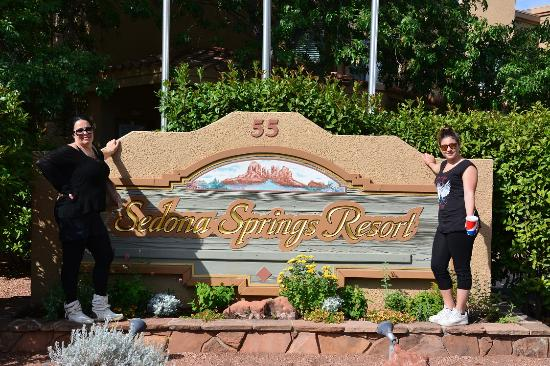 Sedona Springs Resort: All'arrivo