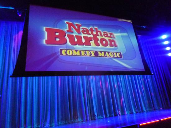 Nathan Burton Comedy Magic: Took a pic before the show started