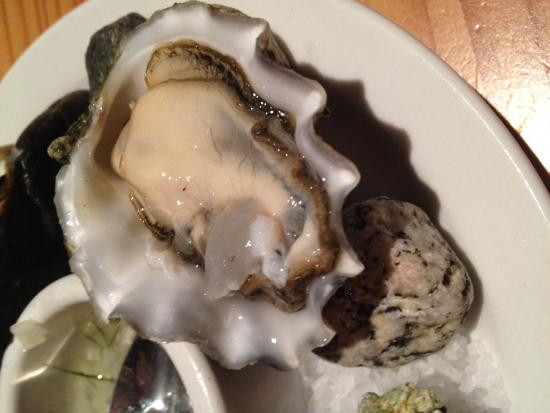 Doe Bay Resort & Retreat: Fresh oysters