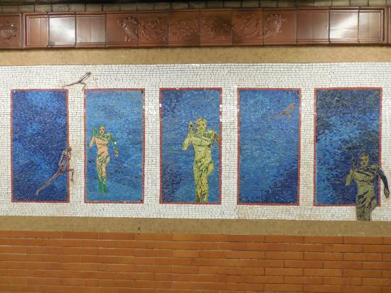 NYC Subway Art Tour: Mosaico Subway NYC