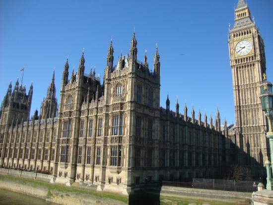 Foto de c maras del parlamento londres fachada do for Foto del parlamento