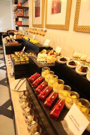Movenpick Ibn Battuta Gate Hotel Dubai Holy Day Brunch Dessert Room