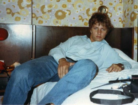Boario Terme, Italia: Hotel Rizzi eccellenza di Boario, la mia foto in camera amarcord del 1990!!! Emanuele Carioti