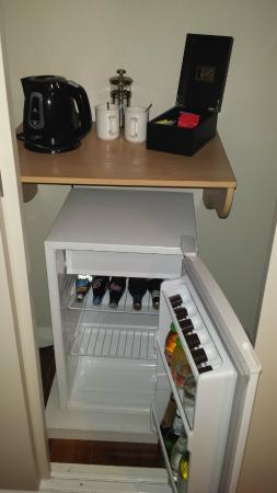 mini bar at room