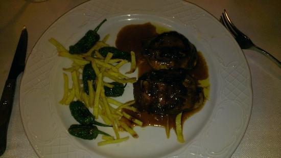 Teitu: Nice venison steak!